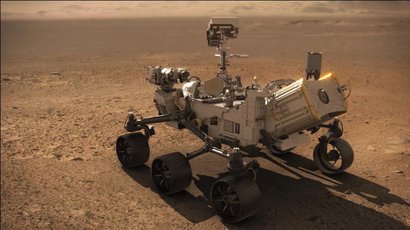 Quel est le nom du rover qui s'est posé sur le sol de la planète Mars le 18 février 2021 ?