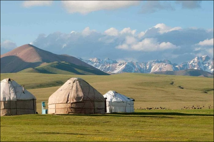 You comme yourte : de quels nomades est-elle l'habitation ?