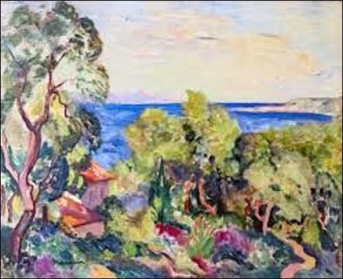 ''Le Golfe'' est une toile réalisée par un fauviste. De qui est ce tableau ?