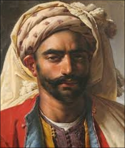 Datant de 1819, ''Portrait de Mustapha'' est une toile peinte par un néoclassique. De qui est ce tableau ?