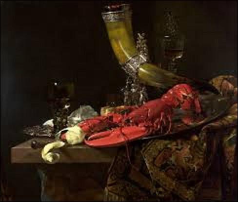''Nature morte avec la corne à boire de la corporation des archers de Saint-Sébastien, un homard et des verres'' est une nature morte peinte par un baroque vers 1653. De qui est ce tableau ?