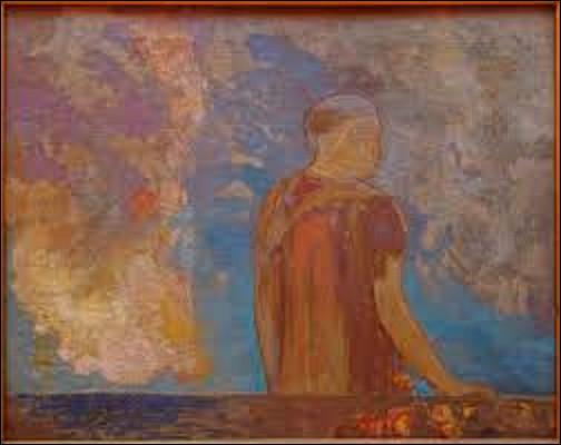 Datant de 1910, ''Le Regard'' est le tableau d'un symboliste. Parmi ces trois peintres lequel a réalisé ce tableau ?