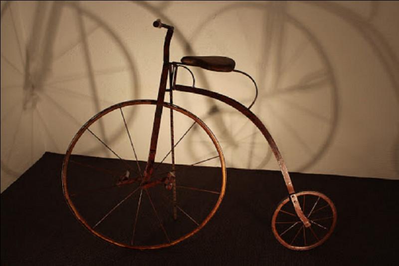 Quel est le nom de ce type de bicyclette ?