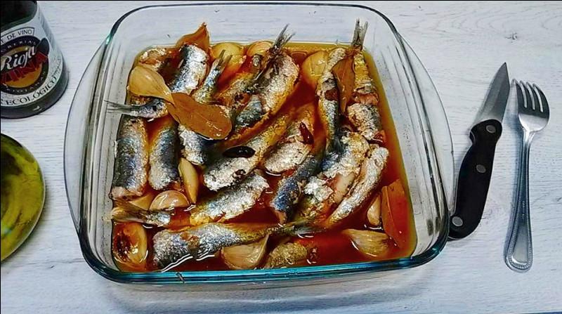 Lequel de ces trois poissons se déguste le plus souvent à l'escabèche ?
