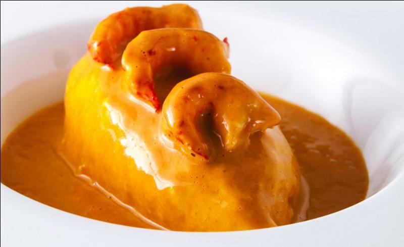 Quels crustacés entrent dans la composition de la sauce Nantua ?