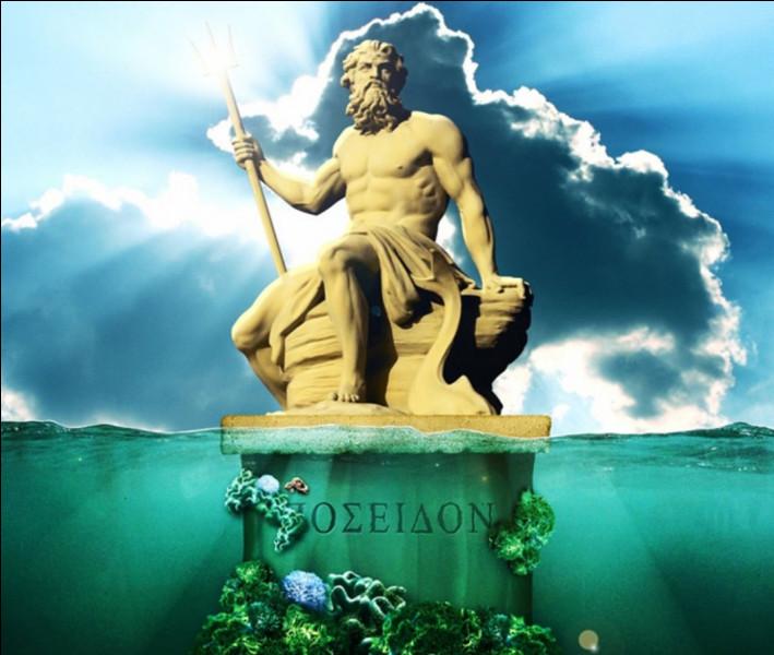 Poséidon est l'un des trois grands dieux...