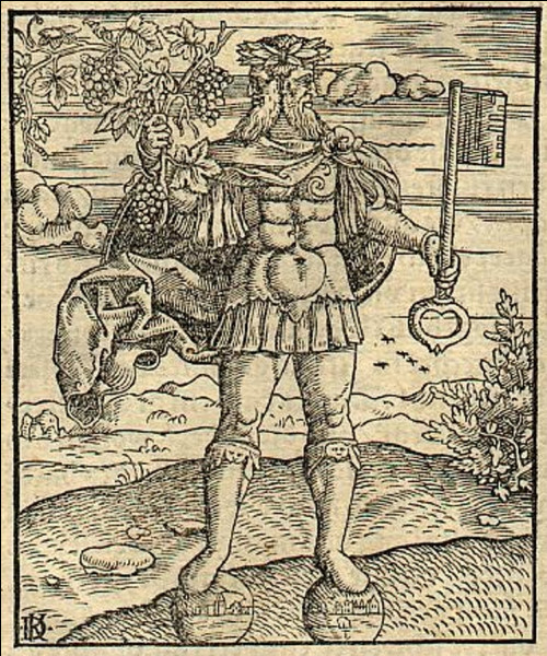 Le dieu aux deux visages Janus est d'origine...