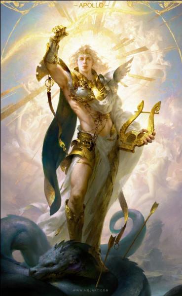 Le dieu Apollon était vénéré par les...