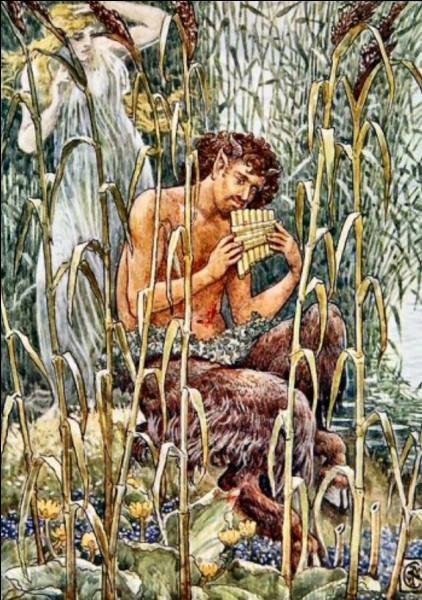 Le dieu Pan de la nature, est d'origine...