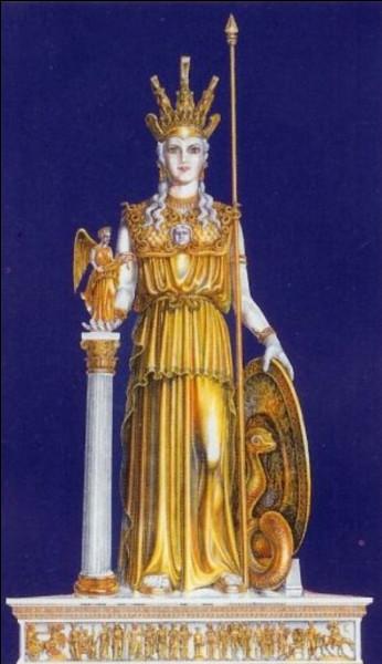 Athéna est une divinité importante du panthéon...