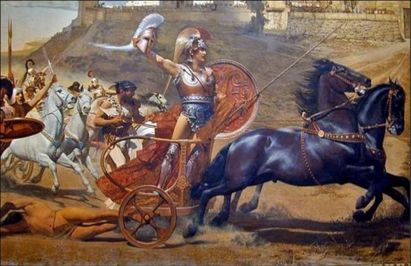 Achille est un héros de la mythologie...