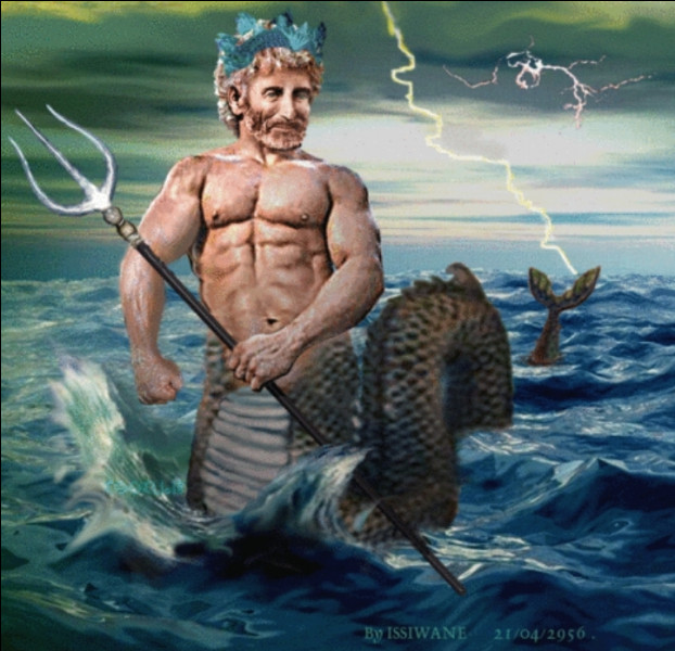Le dieu Triton était vénéré par les...