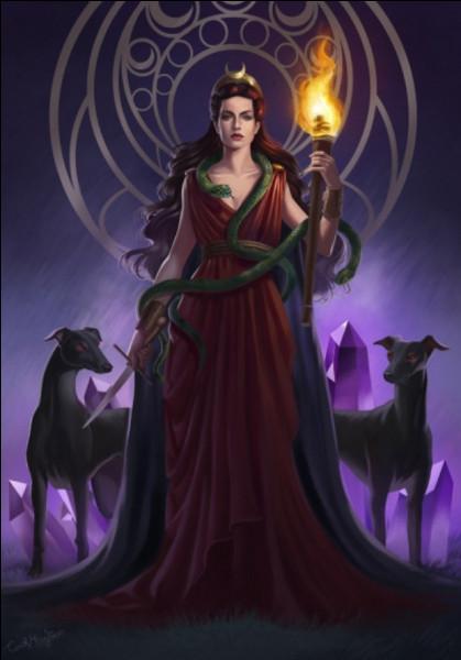 Hécate, déesse de la magie, a un nom...