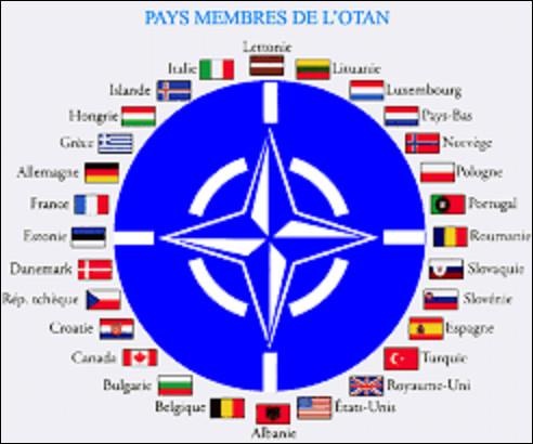 4 avril 1949 : Voit la création de l'OTAN. À Washington, 10 pays européen (Belgique, Danemark, France, Islande, Italie, Luxembourg, Norvège, Pays-Bas, Portugal, Grande-Bretagne), les États-Unis et un autre pays signent le traité de l'Atlantique Nord qui aboutit à la création de cette organisation. Quelle est la dernière nation à parapher ce traité ?