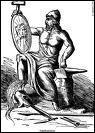 Héphaïstos est le frère d'Héra. Vrai ou faux ?