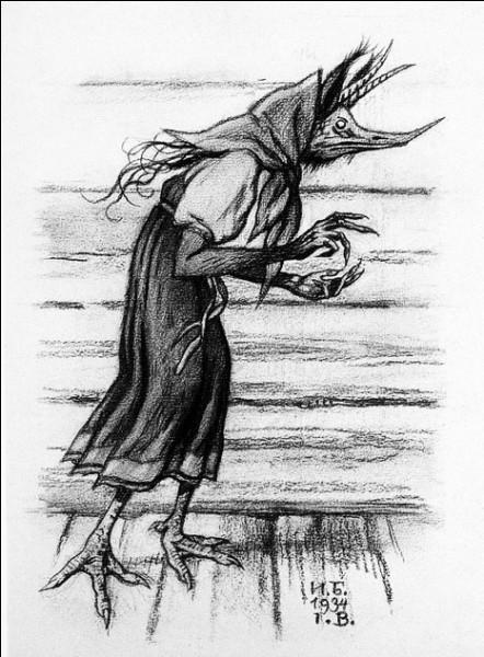 On la décrit souvent comme une femme bossue portant une robe sale et elle se cache derrière un poêle, dans la cave ou dans un cellier. Mais si la maison est bien rangée, elle fera le ménage !