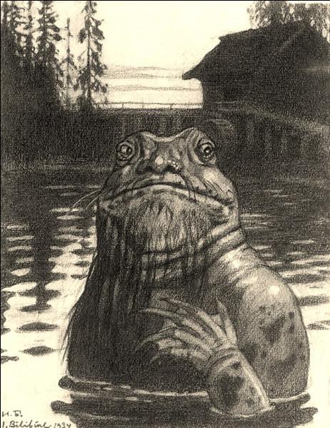 """Le """"Vodianoï"""" (Russie, Pologne, Ukraine, Slovaquie...) noie ses victimes imprudentes qui s'approchent de l'eau : il est souvent comparé aux ondins ou aux [quelles créatures ?] d'autres croyances."""