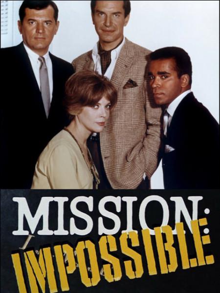 ''Mission impossible'' était à la base une série télévisée des années 60, créée par Bruce Geller, dont on a tiré la saga de films avec Tom Cruise. La musique que tout le monde connaît de ce spin-off est-il le même que celui de la série d'origine ?