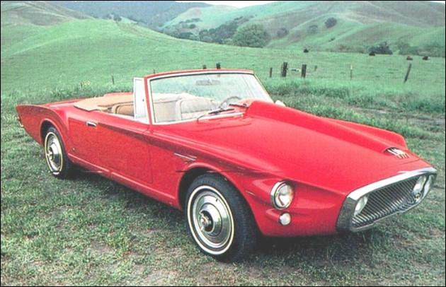 Un modèle dérivé - et sensiblement plus sage - fut réalisé par Ghia en 1961 sous le nom de ... : un belge célèbre en fit l'achat [qui donc ?].