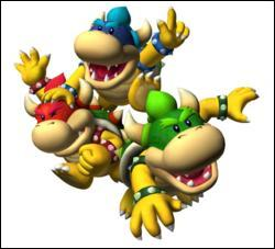 This is Mini bowser In French . But, in English, it's not mini Bowser ! It 's ...