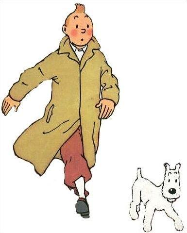 Les personnages chez Tintin