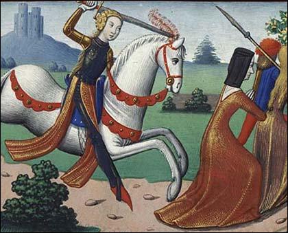 À qui appartenait l'épée nommée de Fierbois ?