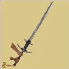 L'épée est une arme :