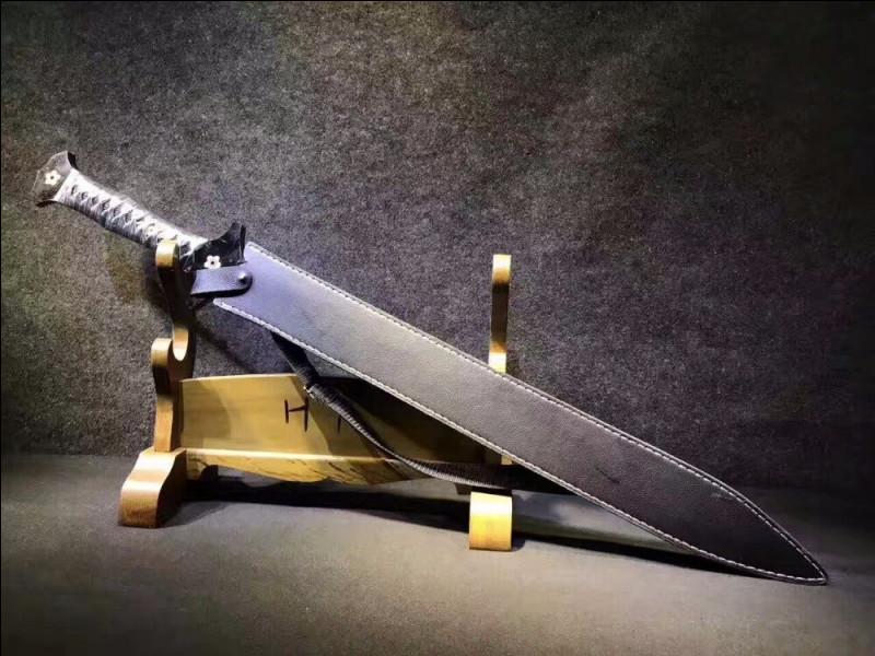 Aujourd'hui, sur quel continent l'épée est-elle encore une arme de guerre ?