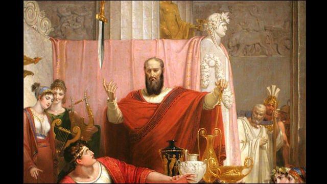 À qui appartenait l'épée de Damoclès ?