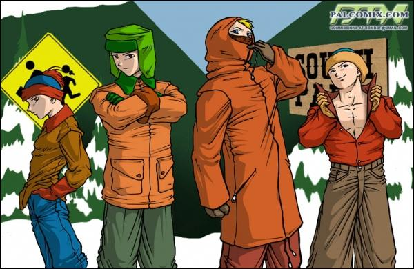 Ce dessin est une caricature où l'on retrouve les personnages principaux d'une série aujourd'hui cultissime. Laquelle ?
