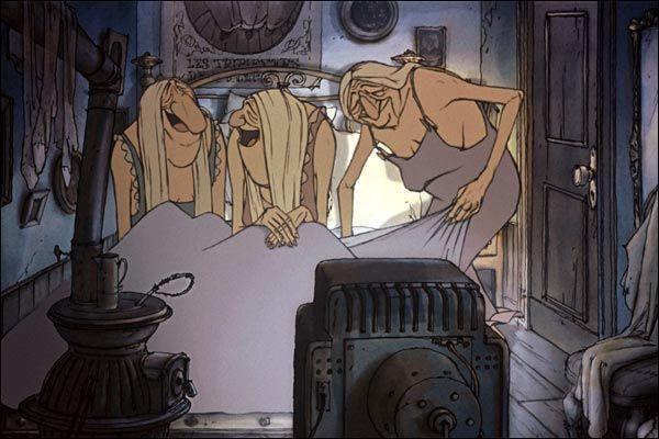 Un long métrage qui manipule la caricature à un point extrême. Qui sont ces trois bombes sexuelles ?
