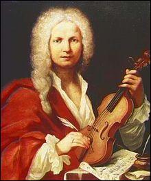 """Ce musicien baroque, violoniste, compositeur des """"Quatre Saisons"""", c'est ... Vivaldi."""