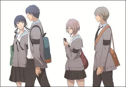 De quel manga viennent ces personnages ?