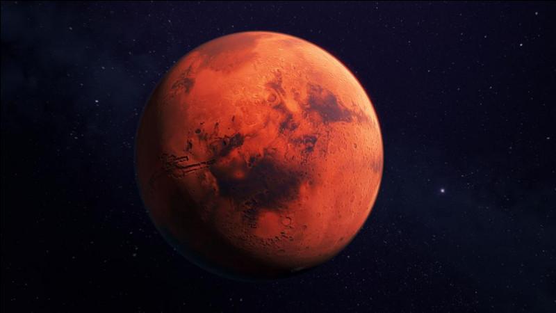 Comment est surnommée Mars ?