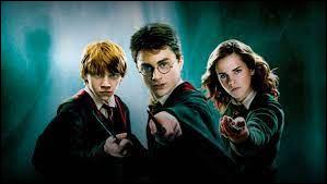 """Dans 'Harry Potter"""", ma réponse est philosophale."""