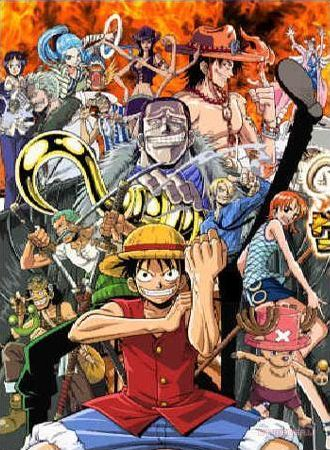 Fairy Tail, Naruto, One Piece