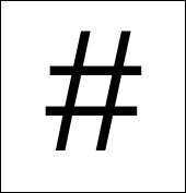 Comment appelle-t-on ce signe sur internet ?