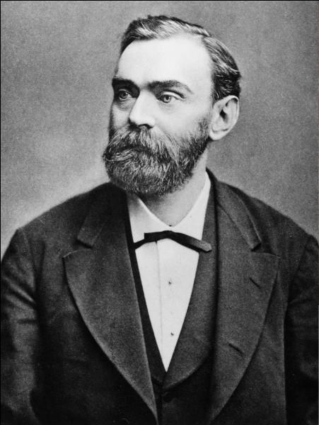 Alfred Nobel - Il légua la quasi-totalité de sa fortune à la création d'un fond dont les intérêts seraient redistribués à ceux qui auront servi l'humanité dans cinq domaines différents. C'est la naissance du prix Nobel. Quelle fut sa grande invention sur laquelle il construisit sa fortune ?