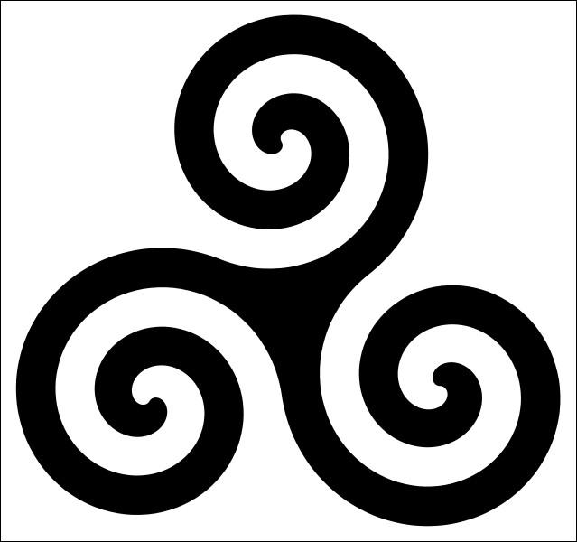Nous connaissons ce symbole celte, qui représente dans l'ère celtique, les trois points d'horizon du mouvement du soleil : le lever, le zénith et le coucher. Comment se nomme ce symbole utilisé dans diverses cultures à travers le monde ?