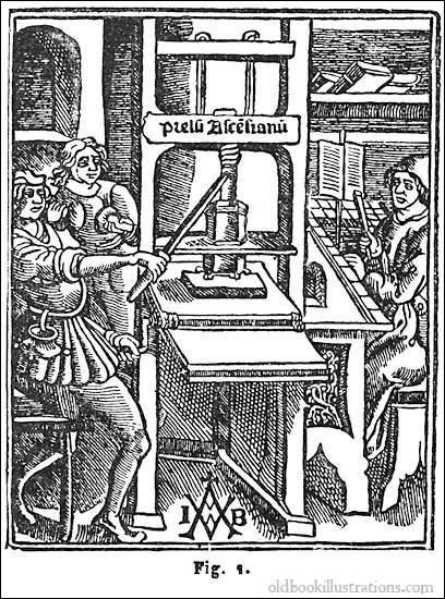 Imprimerie - Ce mot est devenu commun de nos jours. Pourtant, en 1454, bien après les premières impressions chinoises, un homme va révolutionner l'imprimerie. Comment se nommait-il ?