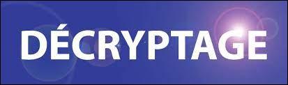 """Voici un petit exercice de décryptage facile à exécuter. Le mot """"Décryptage"""" équivaut à l'énumération du code suivant : 4, 5, 3, 18, 25, 16, 20, 1, 7, 5 Quel mot se cache sous celle-ci : 5, 21, 18, 5, 11, 1 ?"""