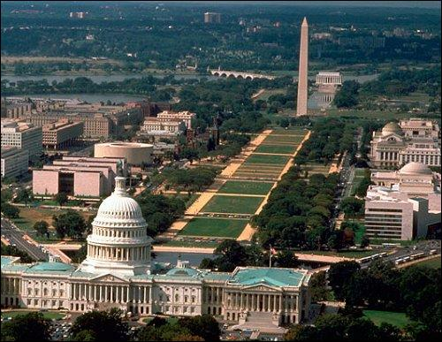 Lieu célèbre pour abriter la Maison Blanche et le Capitole, quelle est la capitale des Etats-Unis ?