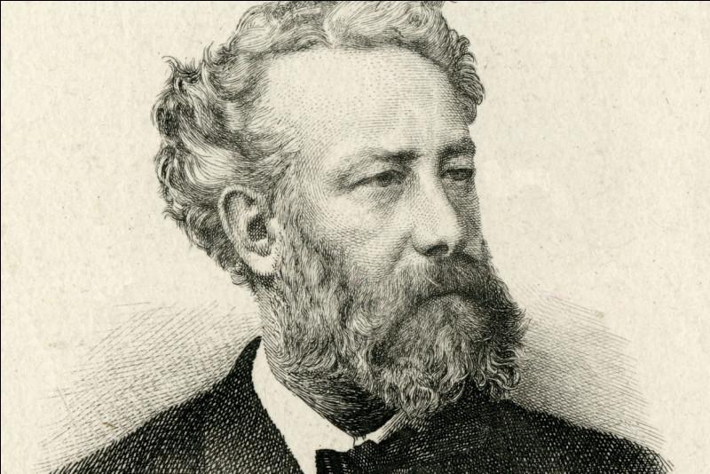 """Complétez le titre de ce roman de Jules Verne publié en 1863 : """"Cinq semaines en ...""""."""