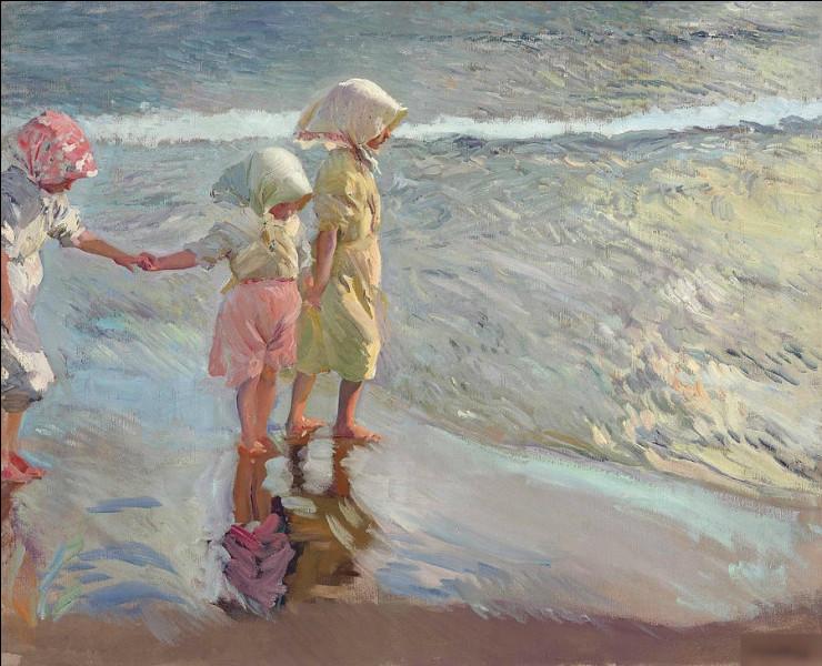 """Qui a réalisé le tableau """"Trois filles à la plage"""" ?"""
