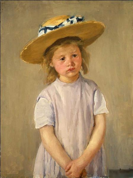"""Qui a peint """"Enfant au chapeau"""" ?"""