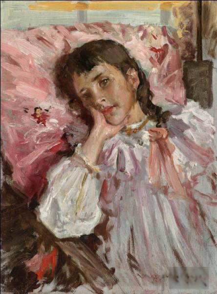 """""""Enfant fatiguée"""" est un tableau de quel impressionniste américain ?"""