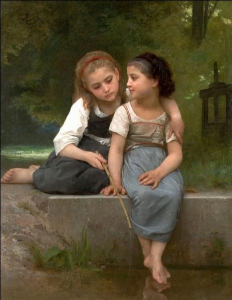 """Qui a peint """"La Pêche de grenouilles"""" ?"""