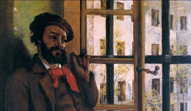 Gustave Courbet a exécuté cet autoportrait lorsqu'il était en prison. Pour quelle raison avait-il été enfermé ?