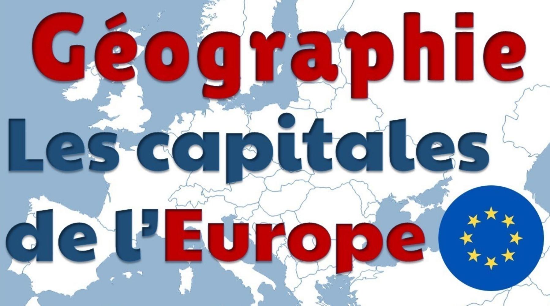 Reconnaîtrez-vous ces capitales d'Europe ?