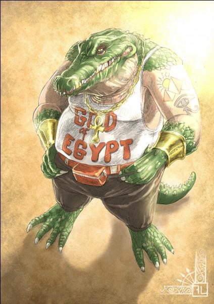 Qui est ce Dieu crocodile ?